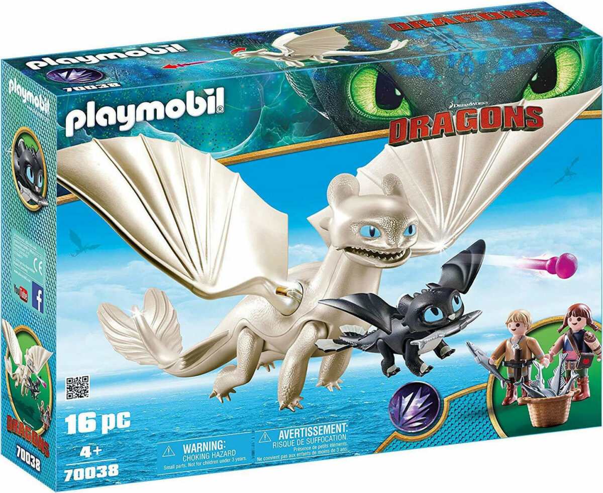 20190211121352 playmobil dragons light fury with baby dragon and children