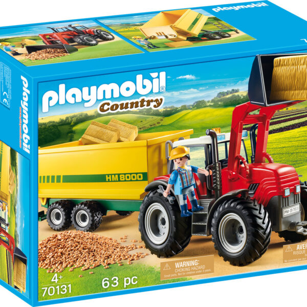 20190405100936 playmobil country tractor with feed trailer