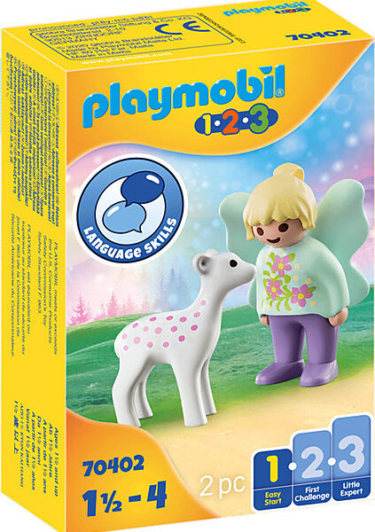 20200807141358 playmobil 123 fairy friend with fawn